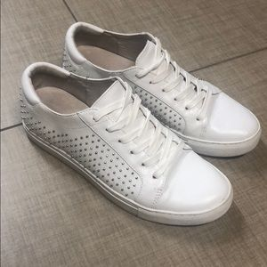 Kenneth Cole white studded sneaker size 8